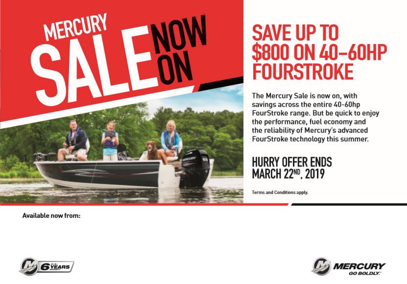 Mercury Sale Now On